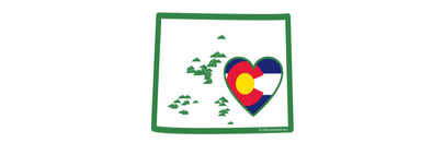 Heart in Colorado Design Origin