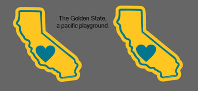 California—The State With a Giant Heart
