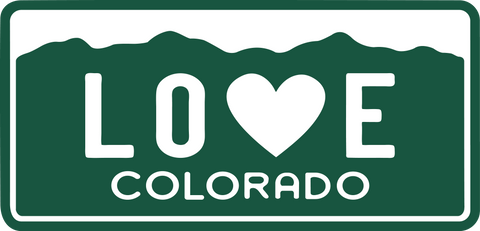 Heart in Colorado Design Explained 53 14ers Rocky Mountains Continental Divide Denver Boulder Ft Collins Grand Junction Colorado Springs
