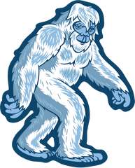 Yeti Stroll Sticker from Heartsticker Co Now Available Small Foot Movie