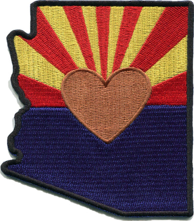 Patch | Heart In Arizona | Sticky-Back