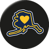 Alaska - Alaska Love Magnet - The Heart Sticker Company