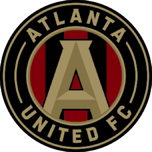 Atlanta United FC Badge - 3 stickers in 1