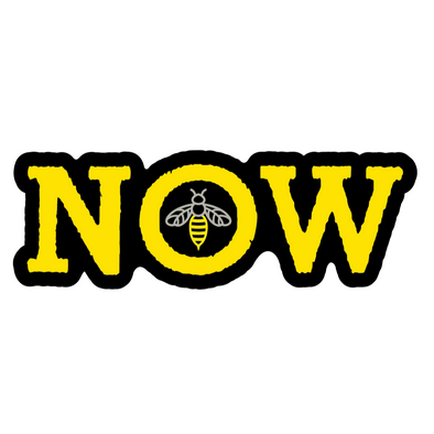 Sticker | Bee in the Now | Puzzle - The Heart Sticker Company