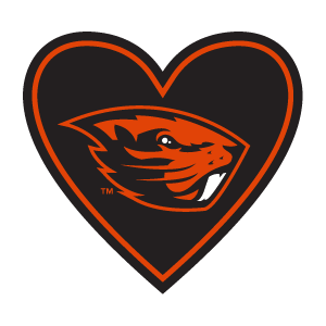 "In My Heart - ""Beavers"" Sticker"
