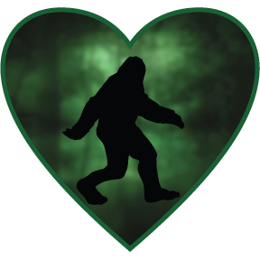 Sticker | Bigfoot | In My Heart - The Heart Sticker Company