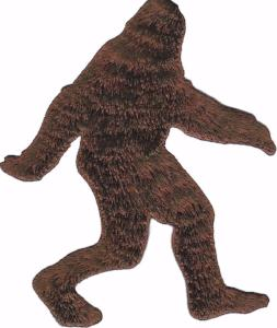 Bigfoot Embroidered Sticker