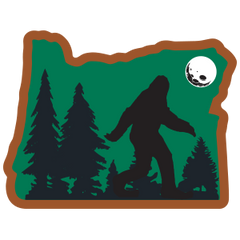 Heart in Oregon, Sasquatch Sticker