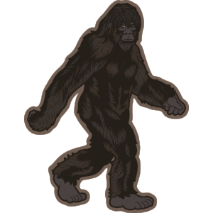 Sticker | Bigfoot Stroll - The Heart Sticker Company