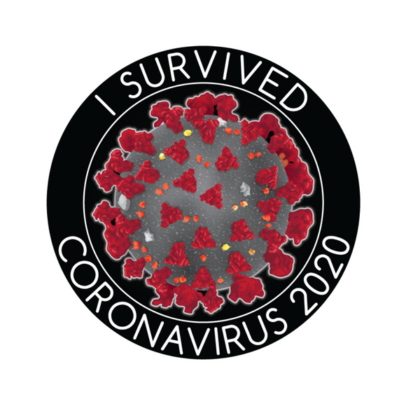 Sticker | Coronavirus Survivor | Sticky-Back