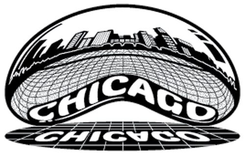 The Chicago Skyline - The Heart Sticker Company