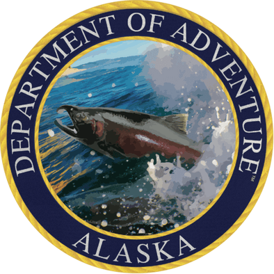 Alaska - Alaska Department of Adventure Sticker