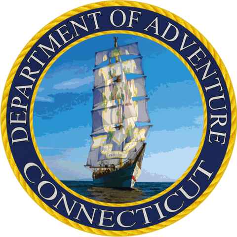 North Carolina Department of Adventure Sticker (Coastal)