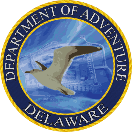 Delaware - Delaware Department of Adventure Sticker