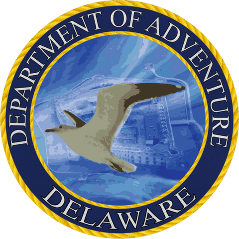 Delaware - Heart in Delaware  Sticker