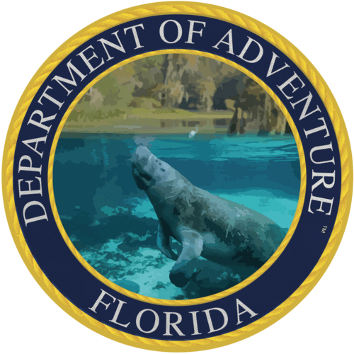 Florida - Florida Department of Adventure Sticker