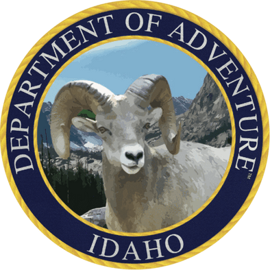 Idaho - Idaho Department of Adventure Sticker