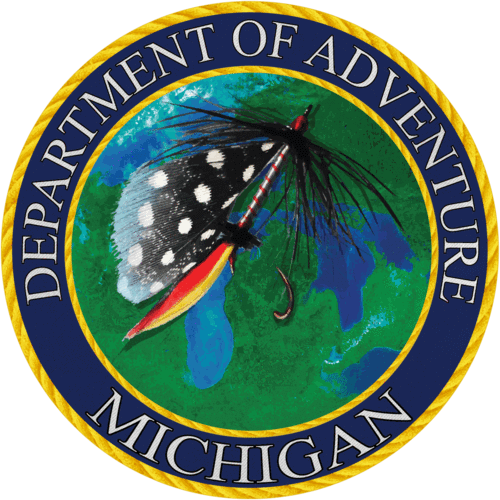 Michigan - Michigan Department of Adventure Sticker