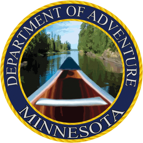 Minnesota - Minnesota Department of Adventure Sticker