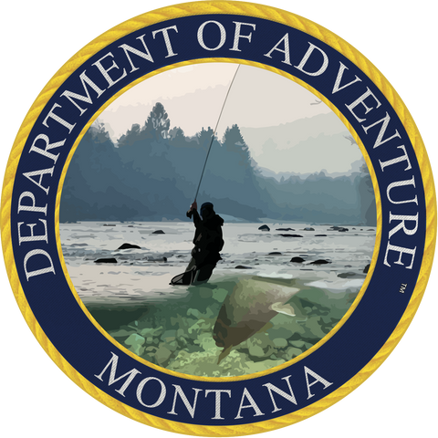 Washington - Department of Adventure Washington Sticker