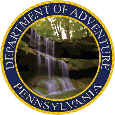 Pennsylvania - Pennsylvania Department of Adventure Sticker
