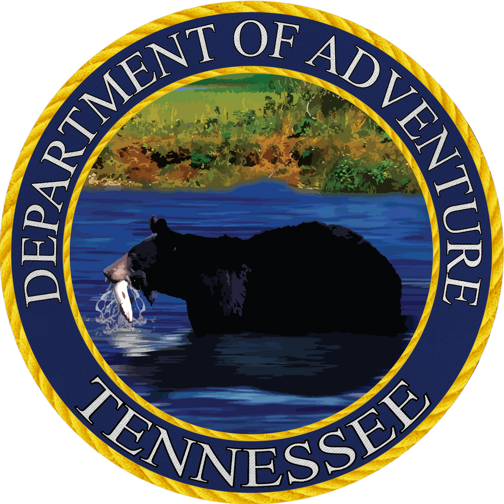 Tennessee Department of Adventure Sticker - The Heart Sticker Company