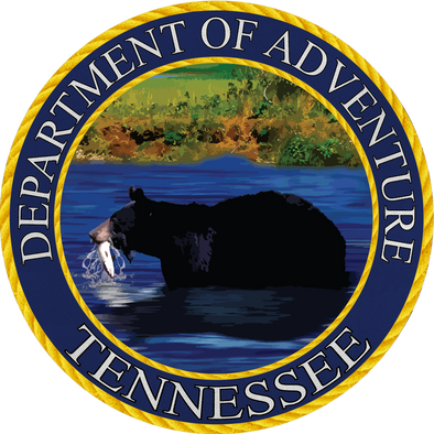 Tennessee - Tennessee Department of Adventure Sticker - The Heart Sticker Company