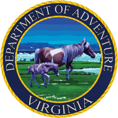 Sticker | VA Dept. of Adv. - The Heart Sticker Company
