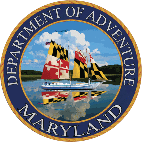 Maryland - Maryland Department of Adventure Sticker