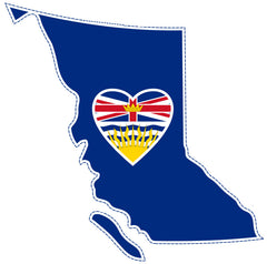 British Columbia - Heart in British Columbia