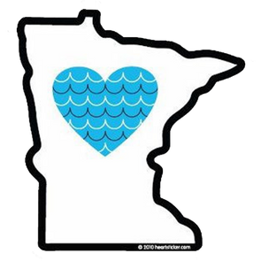 Sticker | Heart in Minnesota - The Heart Sticker Company