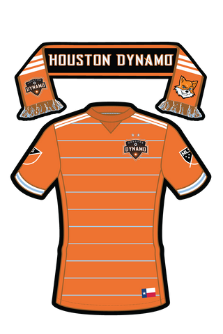 MLS Houston Dynamo Sticker