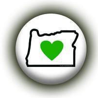 Heart in Oregon Button (200-Pack) for gifts and events - Heart In Oregon