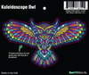 Sticker | Kaleidoscope Owl | Color - The Heart Sticker Company