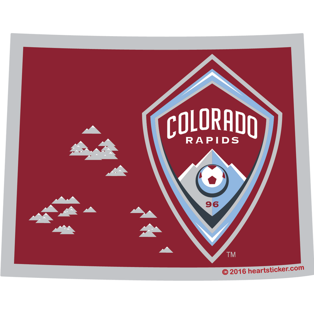 MLS Colorado Rapids Sticker