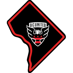 MLS D.C. United Sticker - The Heart Sticker Company