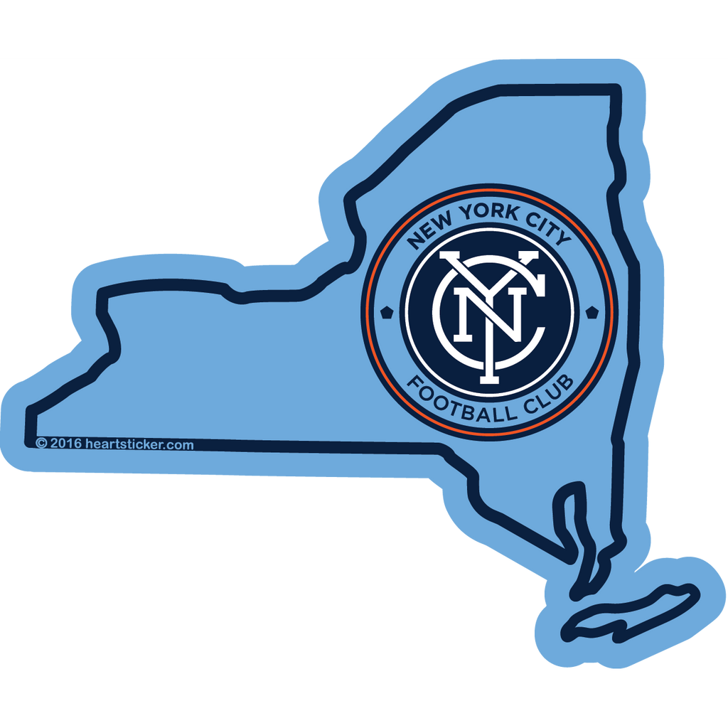 MLS New York City FC Sticker