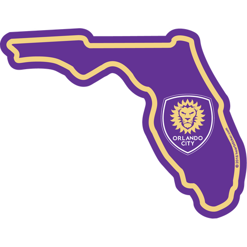 MLS Orlando City SC Sticker