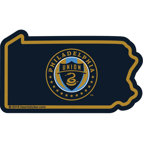 MLS Philadelphia Union Sticker