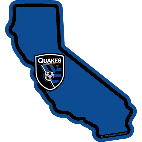 MLS San Jose Earthquakes Sticker