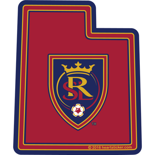 MLS Real Salt Lake Sticker