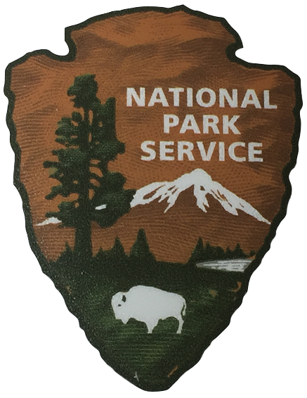 National Park Service Vinyl Transfer Sticker