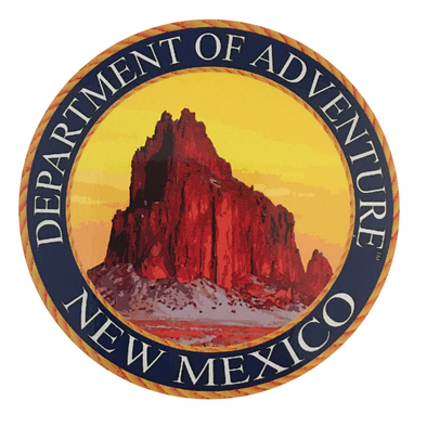 New Mexico Department of Adventure Sticker