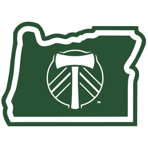 MLS Portland Timbers in Oregon Sticker - The Heart Sticker Company