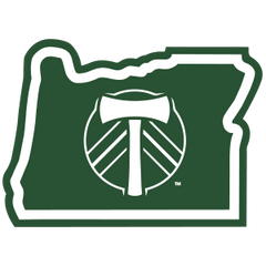MLS Portland Timbers in Oregon Sticker