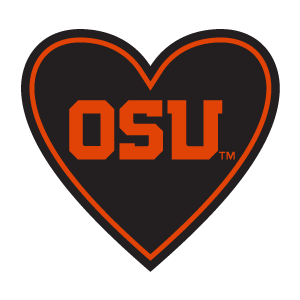 "In My Heart - ""OSU"" Sticker - The Heart Sticker Company"