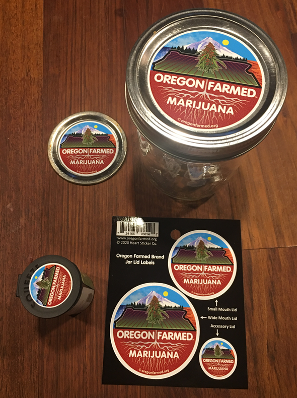 Oregon Farmed Mason Jar Lids