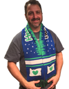 chris bucci heart in oregon owner wearing soccer scarf