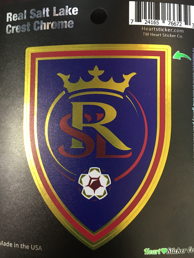 Real Salt Lake FC Chrome Sticker