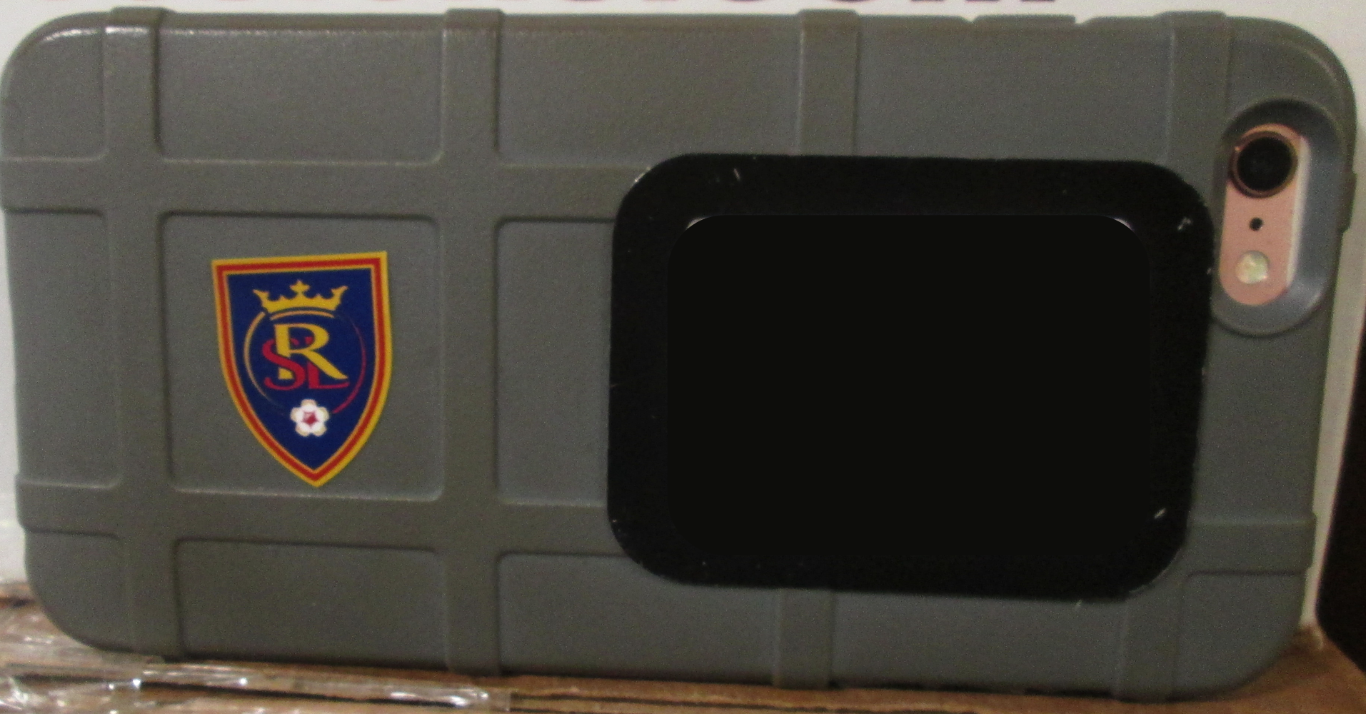 Real Salt Lake FC Shield small sticker on a phone case
